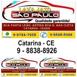 LAVA JATO SÃO PAULO - CATARINA - CE