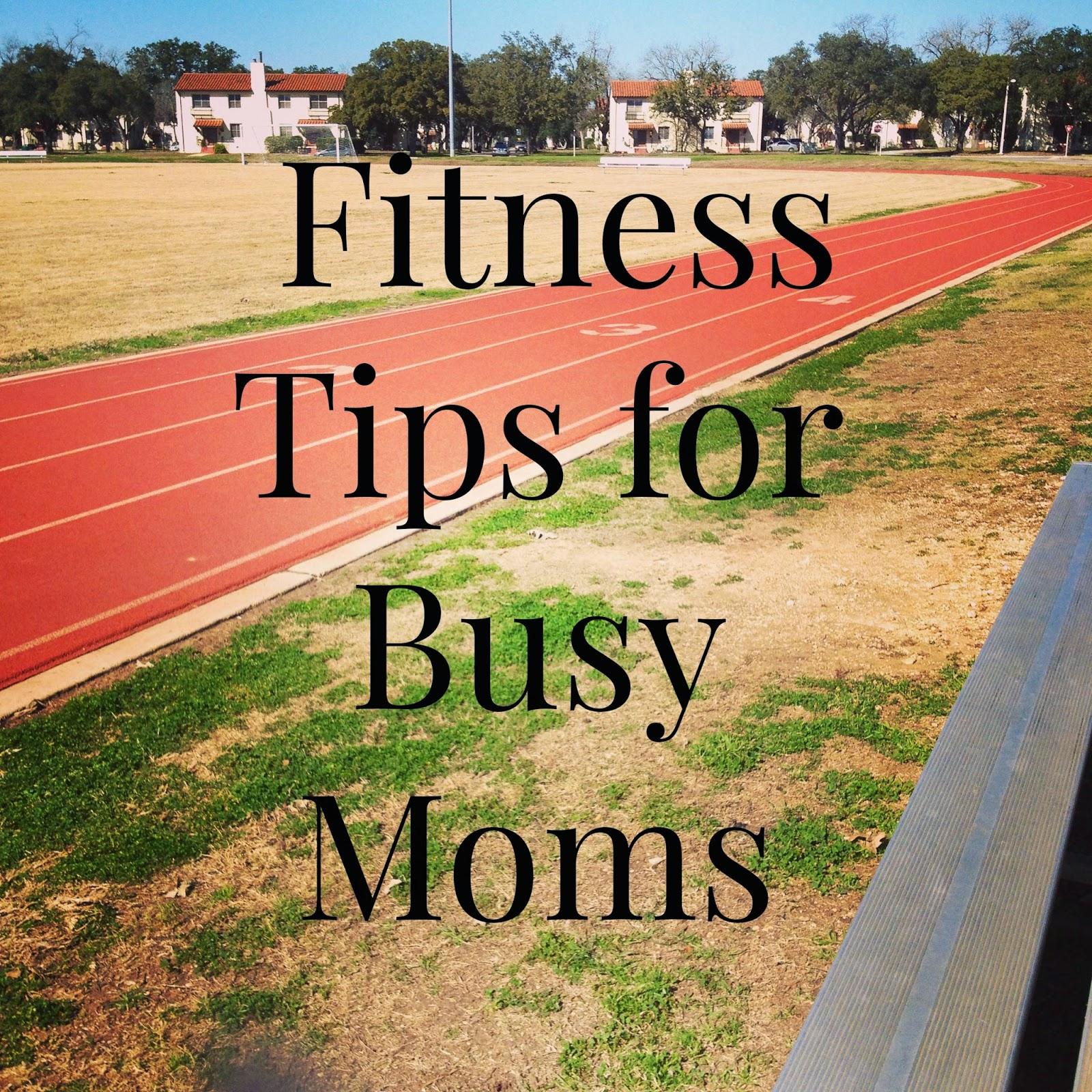 fitness tips for moms
