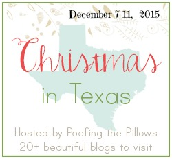 Christmas in Texas Blog Hop December 7-11, 2015 Hosted by Poofing the Pillows