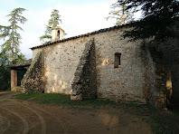 Paret de migdia de l'ermita de Sant Tou