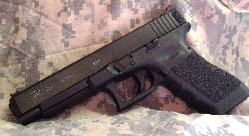 Hueys Gunsight The Glock G34the Practicaltactical Model