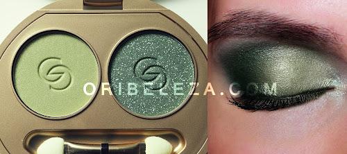 Duos de Sombras de Olhos Exclusivos Giordani Gold