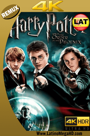Harry Potter y la Orden del Fenix (2007) Latino Ultra HD BDREMUX 2160P ()