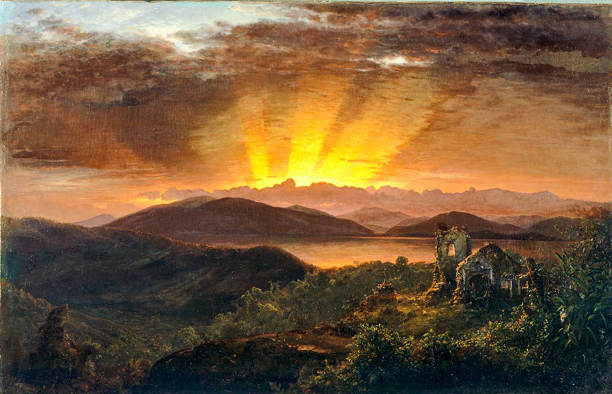 the life and work of frederic edwin church To reflect a more accurate reading of frederic edwin church's the andes of ecuador, the original image has been replaced with a completed rendering of the painting 18:26, 31 january 2014 3,025 × 1,935 (613 kb.