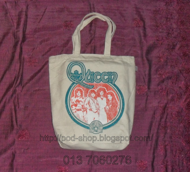 rare Queen band tote bag