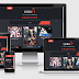 Lycoris Full Dark Responsive Blogger Template