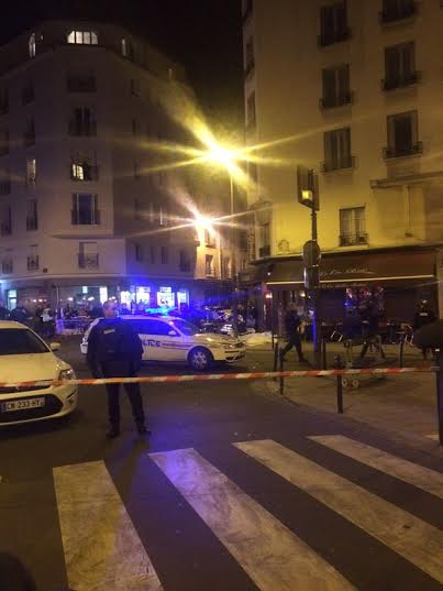 Paris terror shooting attack