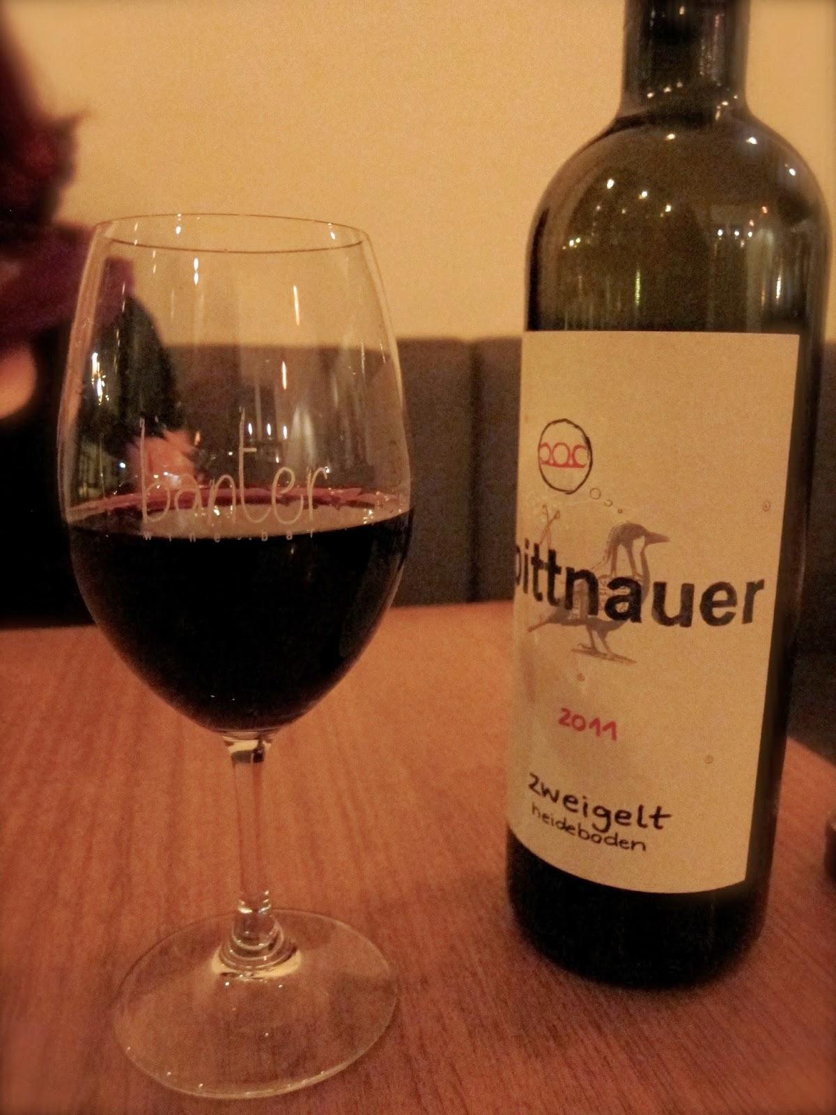 banter wine bar pittnauer heideboden zweigelt review