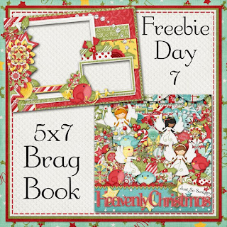 Heavenly Christmas 5x7 Brag Book Freebie Day 7