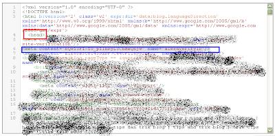 cara memasang kode verifikasi alexa di blog