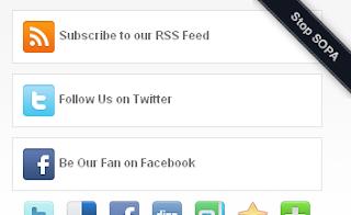 Menambahkan pita STOP SOPA di Blogger - blogspot