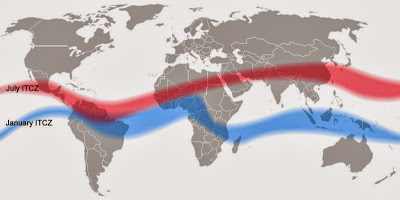Wind and rain belts to shift north as planet warms