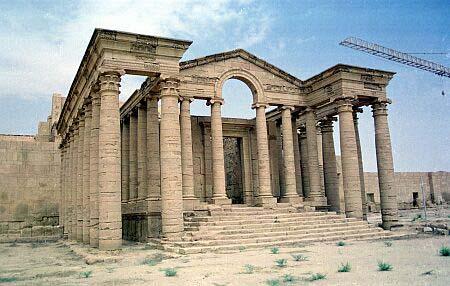 parthian_empire_remains_hatra_iraq_photo