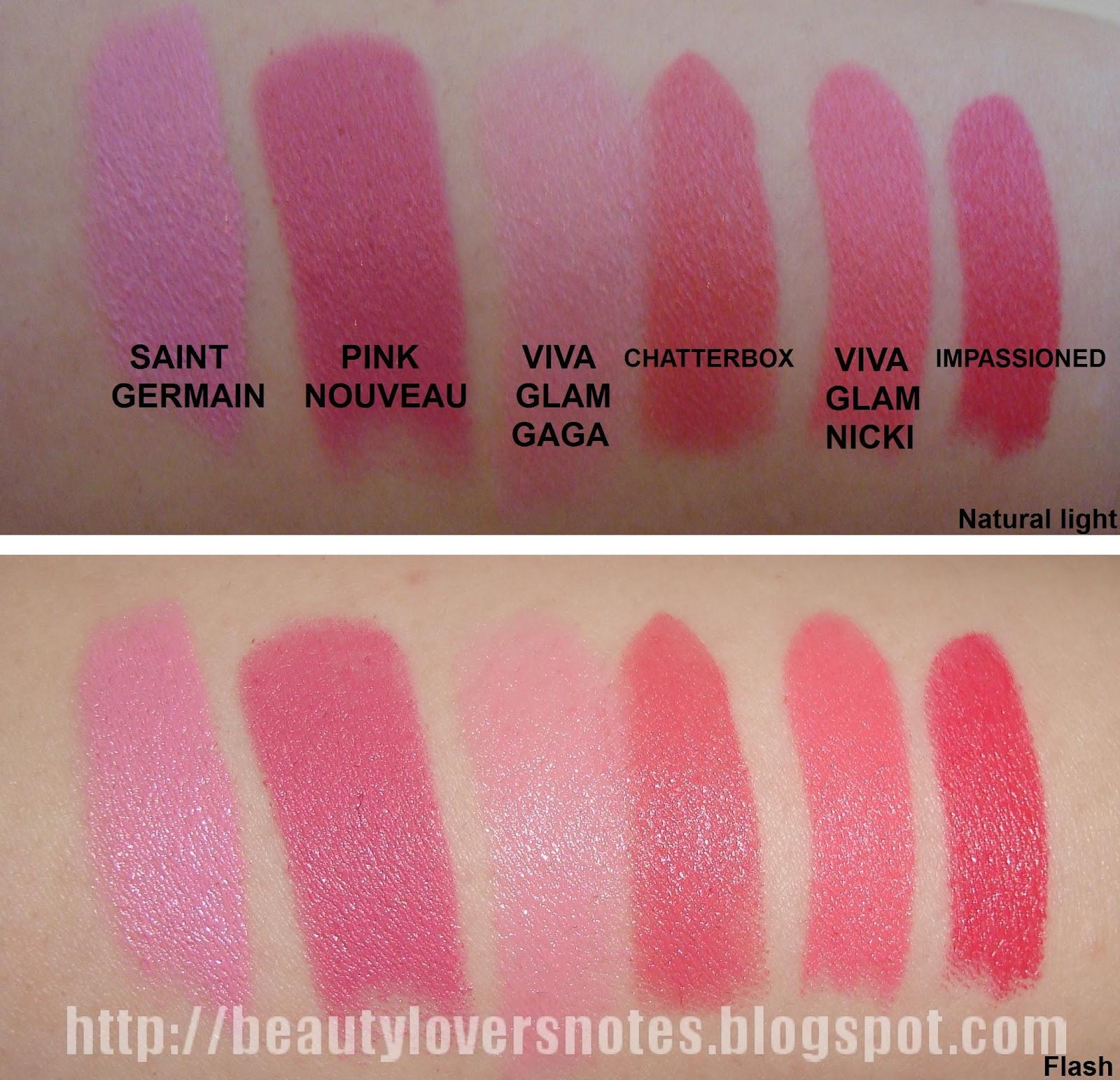 http://4.bp.blogspot.com/-v73KalpL9XI/T1JE6oF786I/AAAAAAAACrA/BPF3D1t2_7k/s1600/MAC+Viva+Glam+Nicki+Minaj+lipstick+swatches.JPG