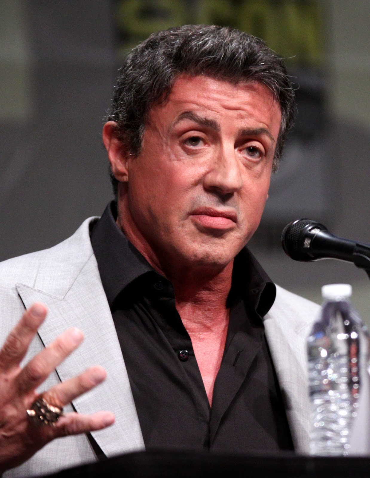 Chatter Busy: Sylvester Stallone Denies Using N-Word With ...