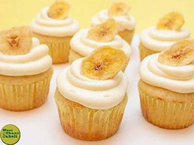 Meri chant saheli Banana cupcake recepie