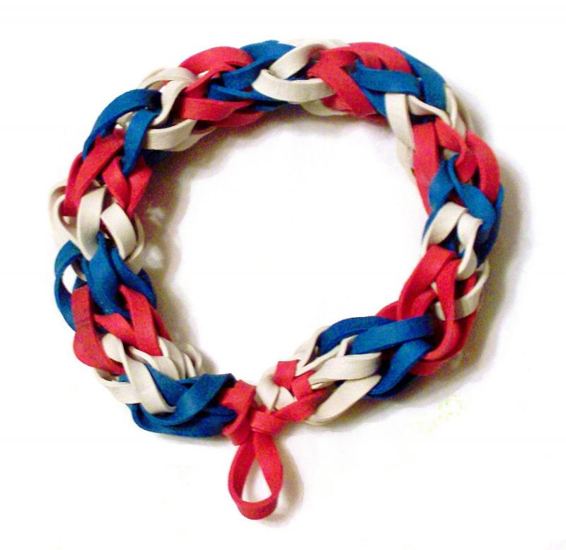 how to make bracelets with rubber bands and beads