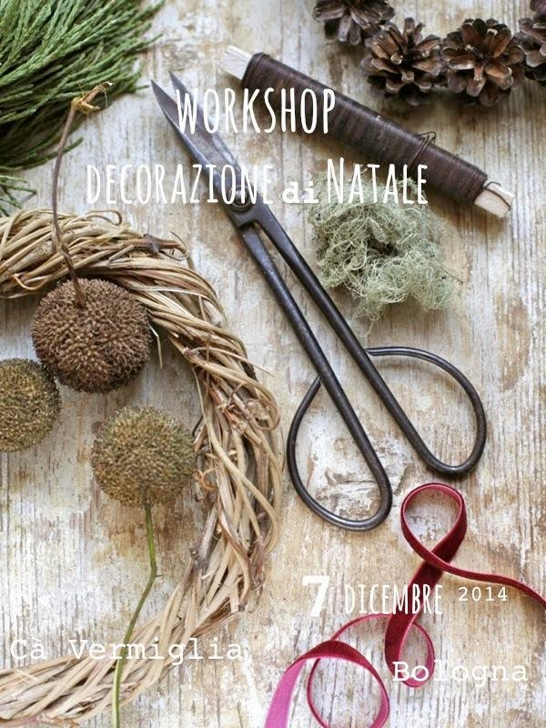 Workshop decorazioni Nartale con Simonetta