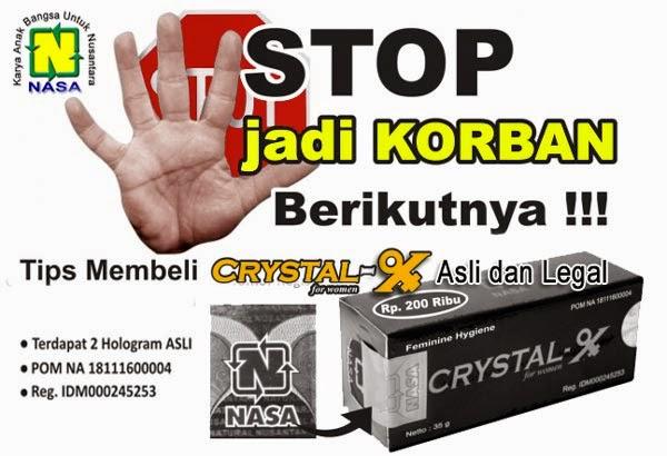manfaat crystal x untuk mengobati keputihan