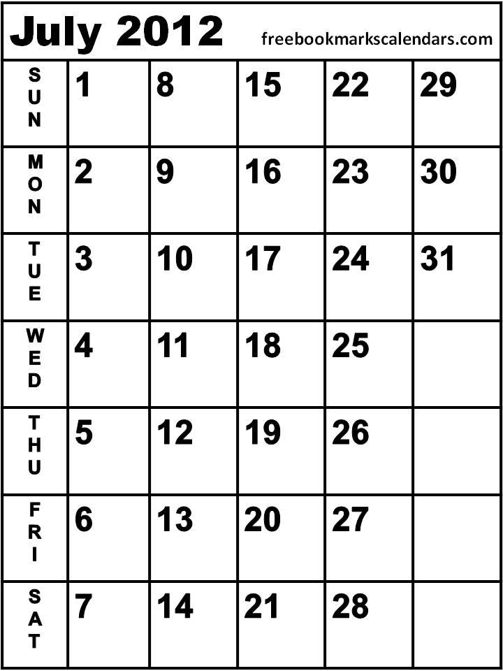 Blank 2013 June July August Calendars/page/2 | New Calendar Template ...