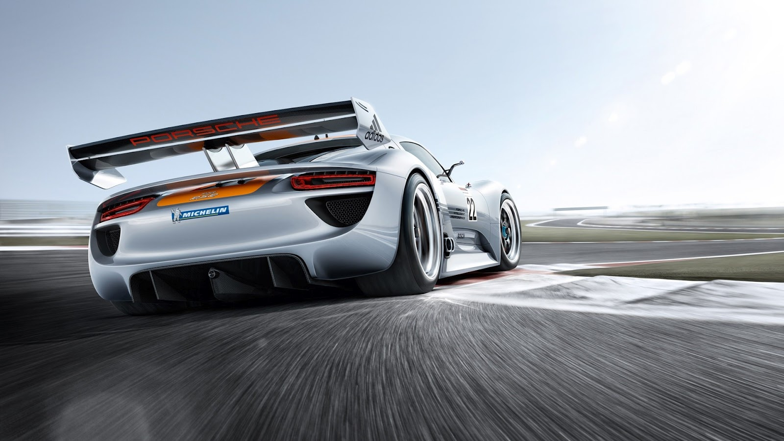 Porsche 918 RSR porsche f1 racing modified car 1920x1080 2013 En Güzel HD Modifiyeli Araba Resimleri