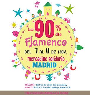 mercadillo solidario en Madrid