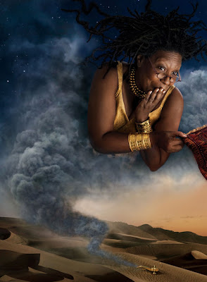 Whoopi Goldberg as Genie