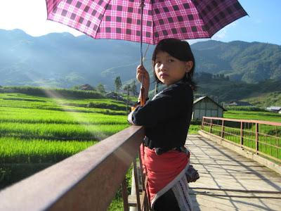 Tribal Costumes vietnamita montana - Sapa (Vietnam)