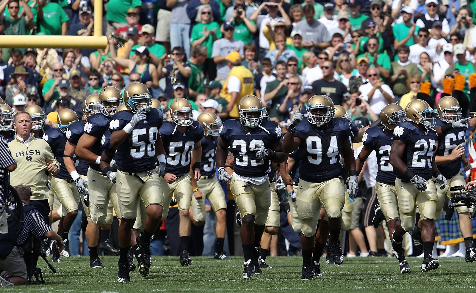 a research on notre dame football Radiocom is the exclusive free streaming home of university of notre dame football for the 2018 season from pregame to kickoff to postgame, the radiocom app will where fans can listen to the.