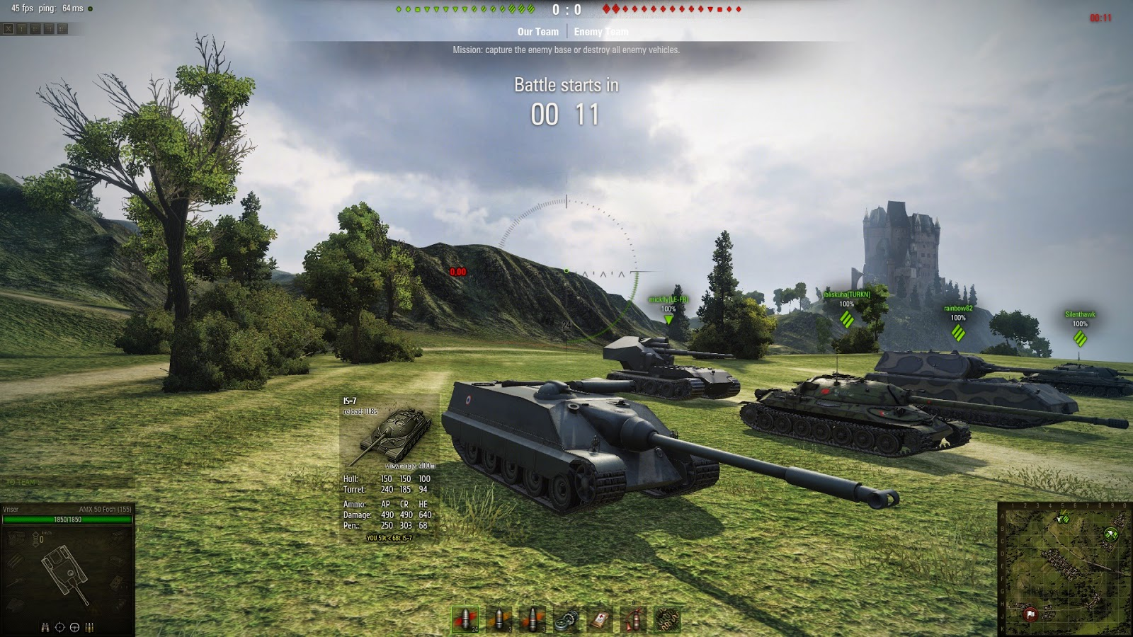 Мини карта для игры world of tanks