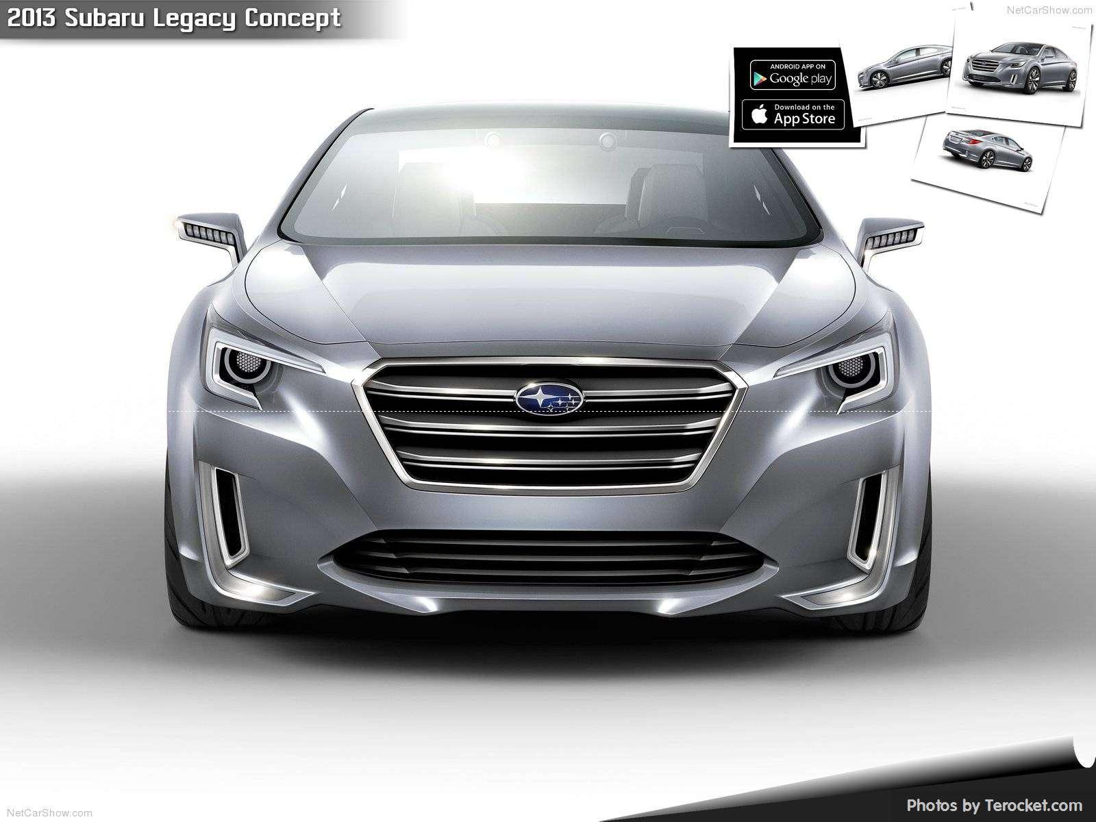 Hình ảnh xe ô tô Subaru Legacy Concept 2013 & nội ngoại thất