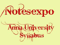Anna University 8th semester syllabus for B.Tech IT Regulation 2008