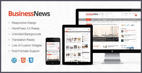 Business News – Responsive Magazine WordPress Theme