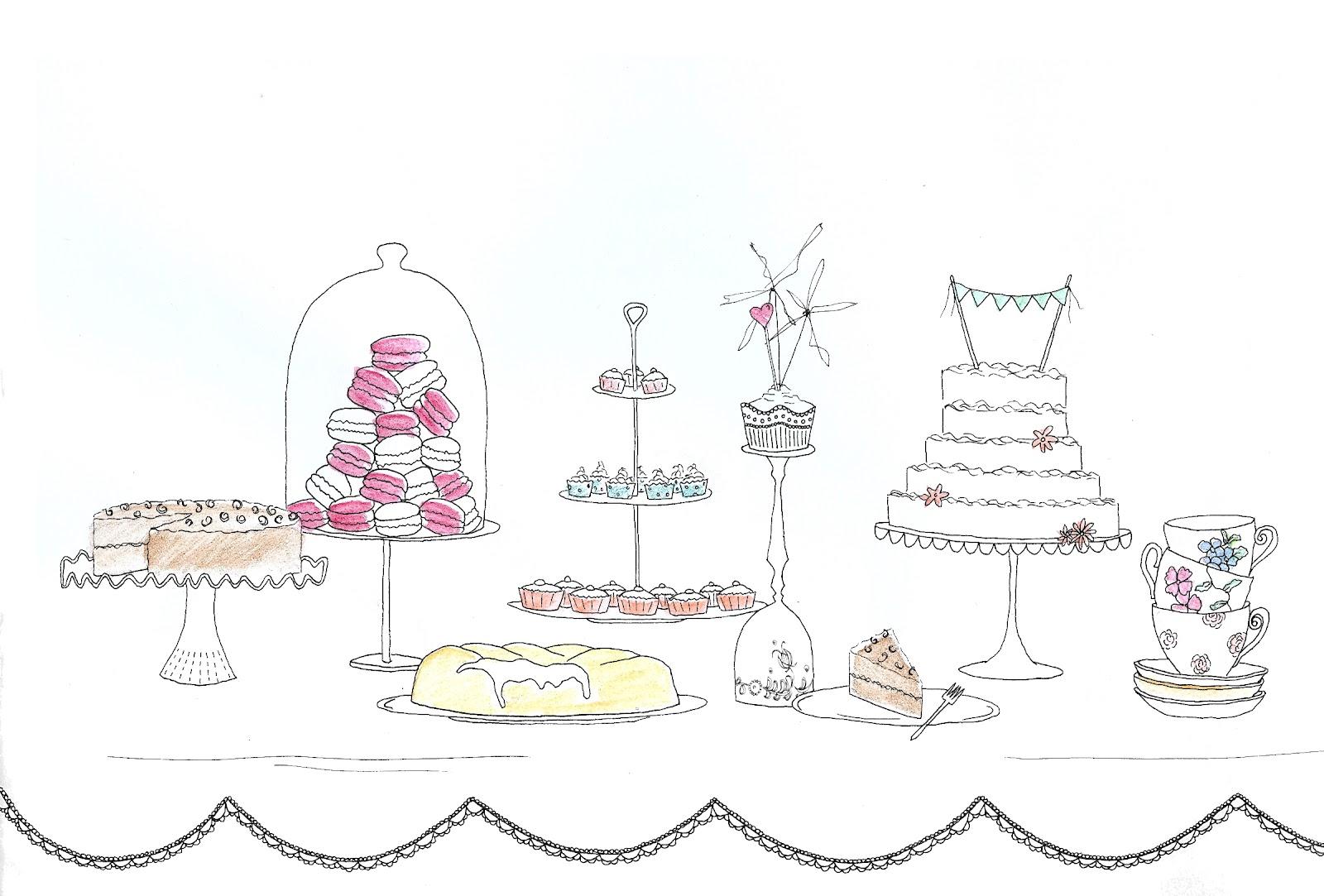 Charlie Davis Styling: tea and cake.