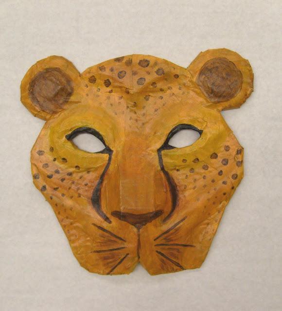 Splatters and Smudges: Lion King Masks (2009)