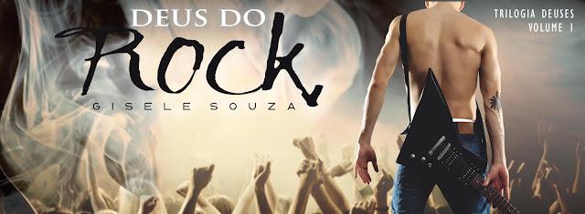 [Lançamento E-Book] Deus do Rock | Gisele Souza - Amazon