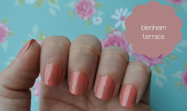 nails inc blenheim terrace swatch