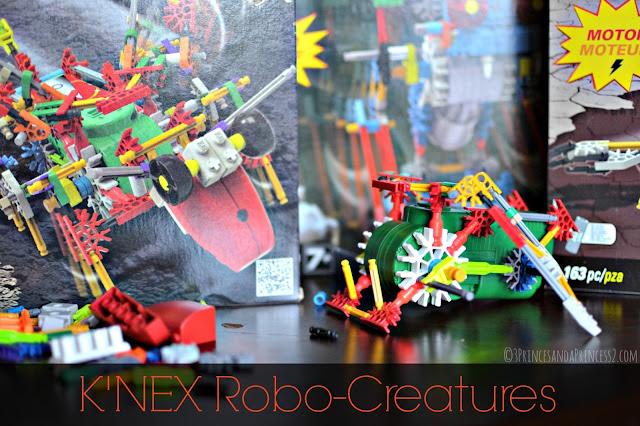#KNEX Robo-Creatures