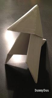cocotte origami en carton