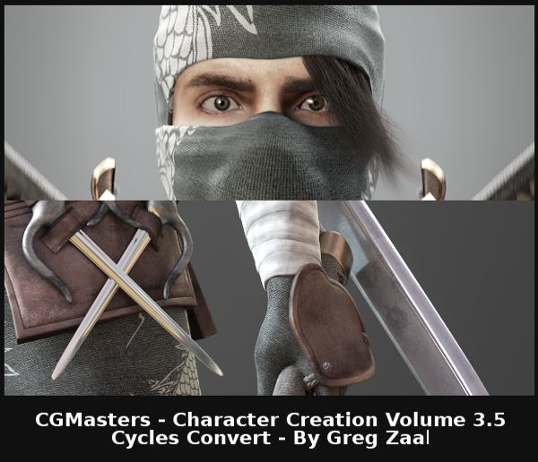 Blender Character Modeling Dvd : Adventures in blender cg masters character creation