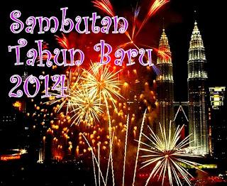 Kemeriahan Sambutan Tahun Baru 2014