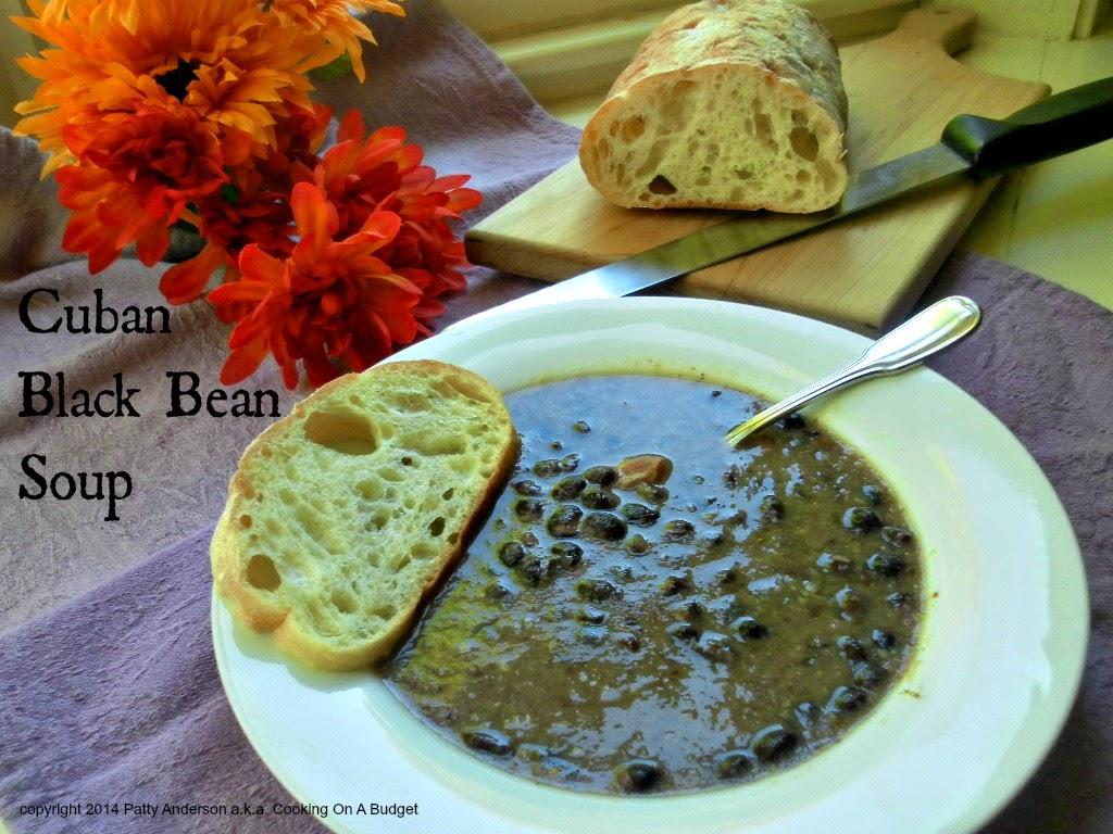 Cooking On A Budget: Cuban Black Bean Soup