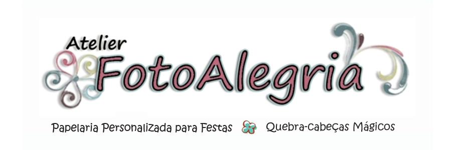 Atelier FotoAlegria: Papelaria Personalizada para Festa Infantil e Quebra-cabeças Mágicos