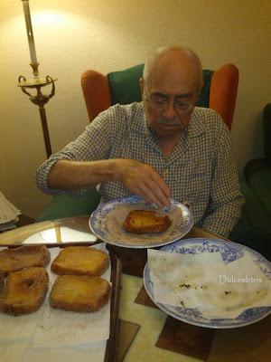 Las torrijas del abuelo