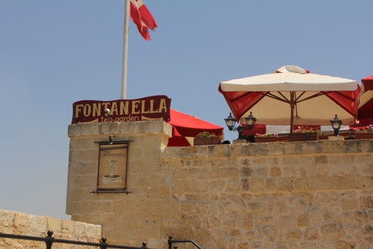fontanella tea garden Mdina malta travel guide