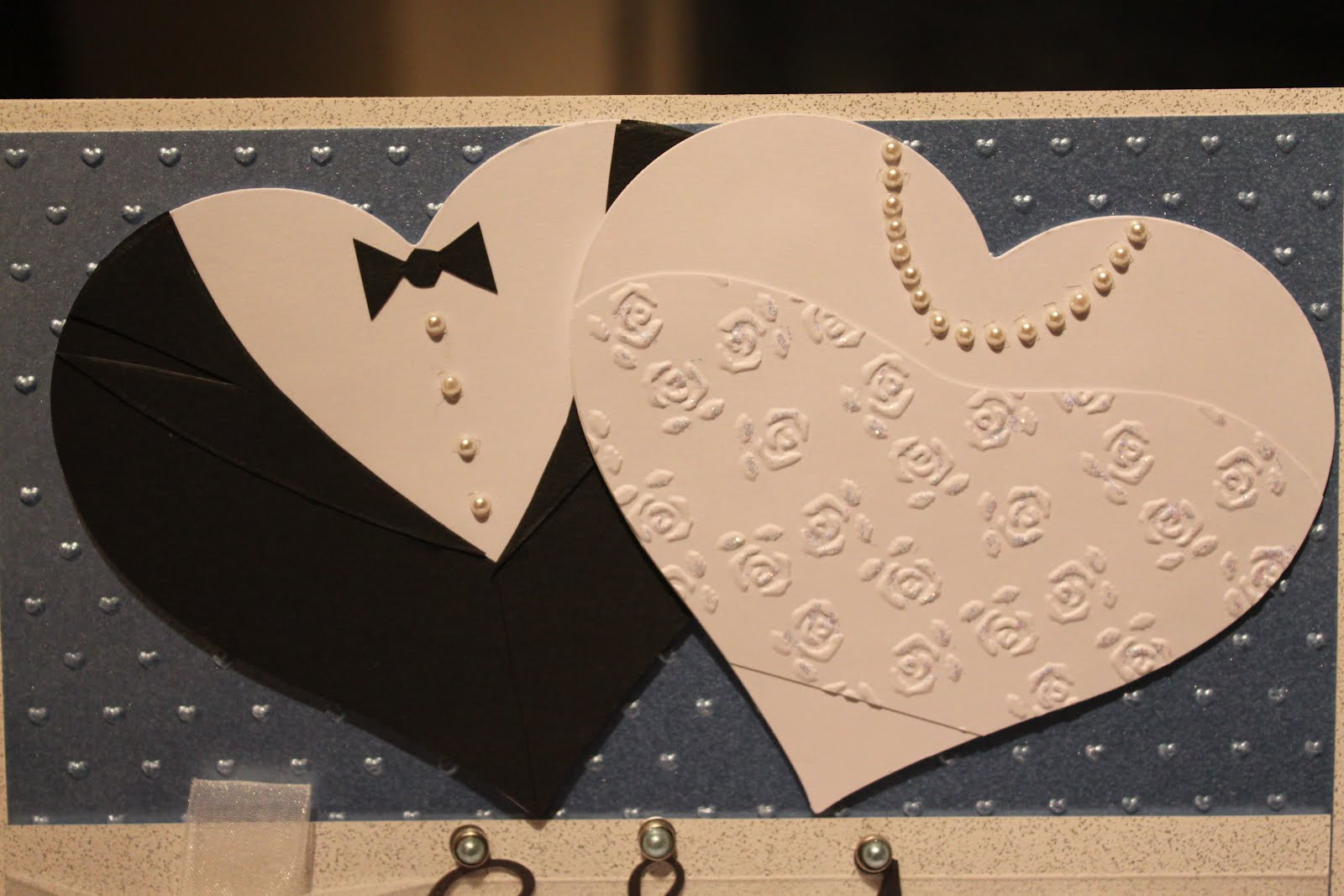 a little piece of me Wedding Card