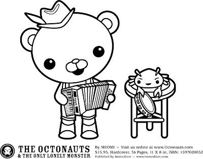 octonautas para imprimir e colorir