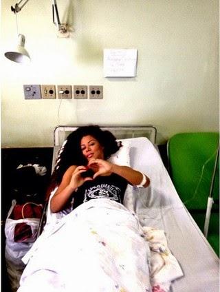 Ariany Nogueira, a bailarina do Latino fala pela 1ª vez após levar tiro