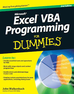 Microsoft Excel VBA Programming for Dummies - 2nd edition