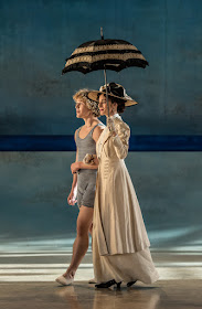 Celestin Boutin and Nina Goldman - Death in Venice, Garsington Opera - photo Clive Barda